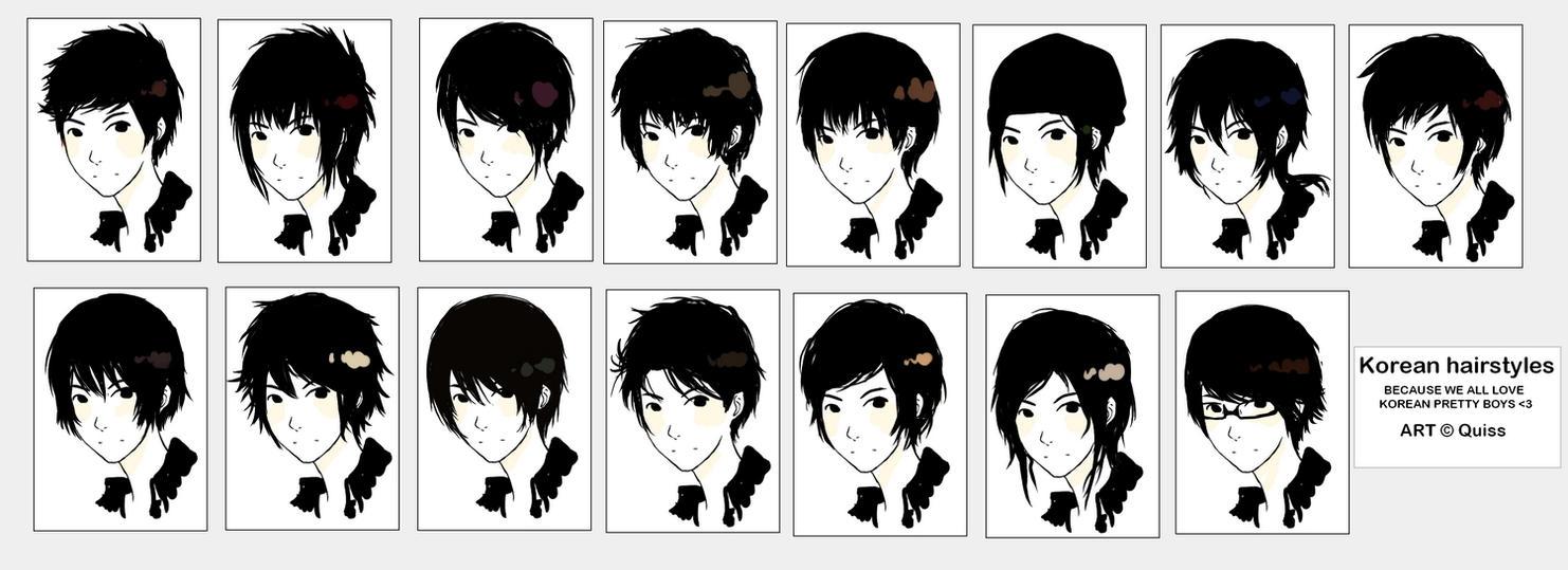 Korean Hairstyles By Quiss On Deviantart