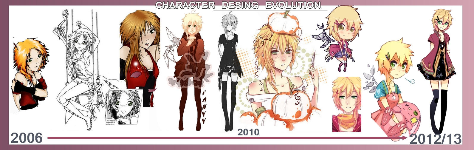 Character Design Evolution : Character design evolution by quiss on deviantart