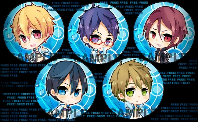 Free! badges by Quiss