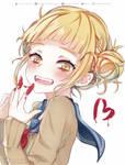 Cute crazy Toga smile