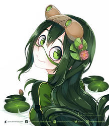 Tsuyu chan by Quiss