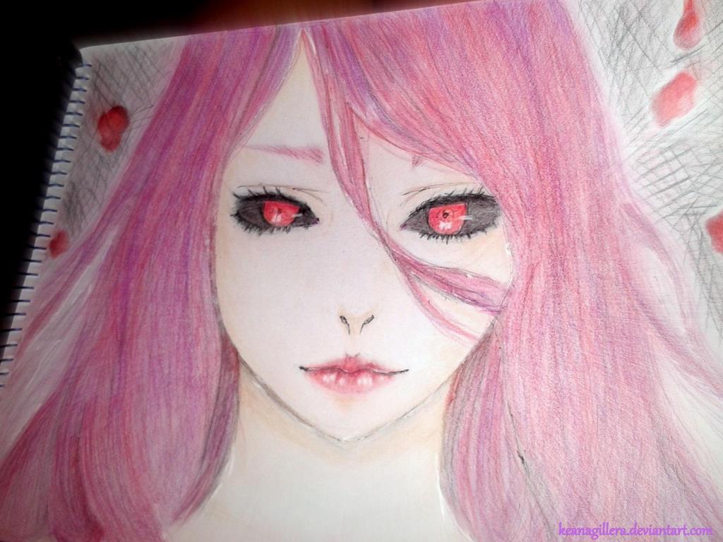 Rize Kamishiro|Tokyo Ghoul by KeanaGillera
