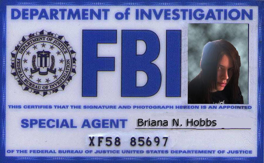 Fbi badge briana by xxxvampiremcrfanxxx on deviantart - Fbi badge wallpaper ...
