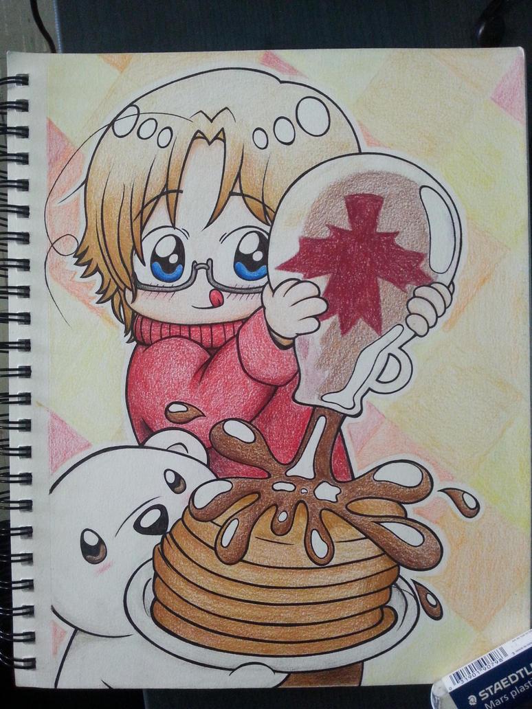 With maple syrup please! by OtakuRaichu