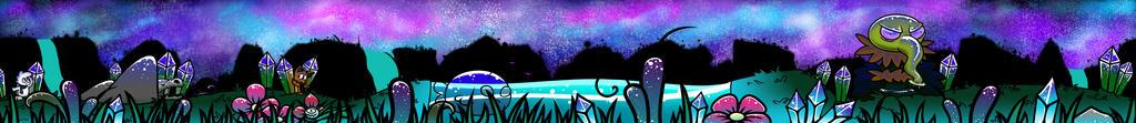 Land, water and cosmos. by OtakuRaichu
