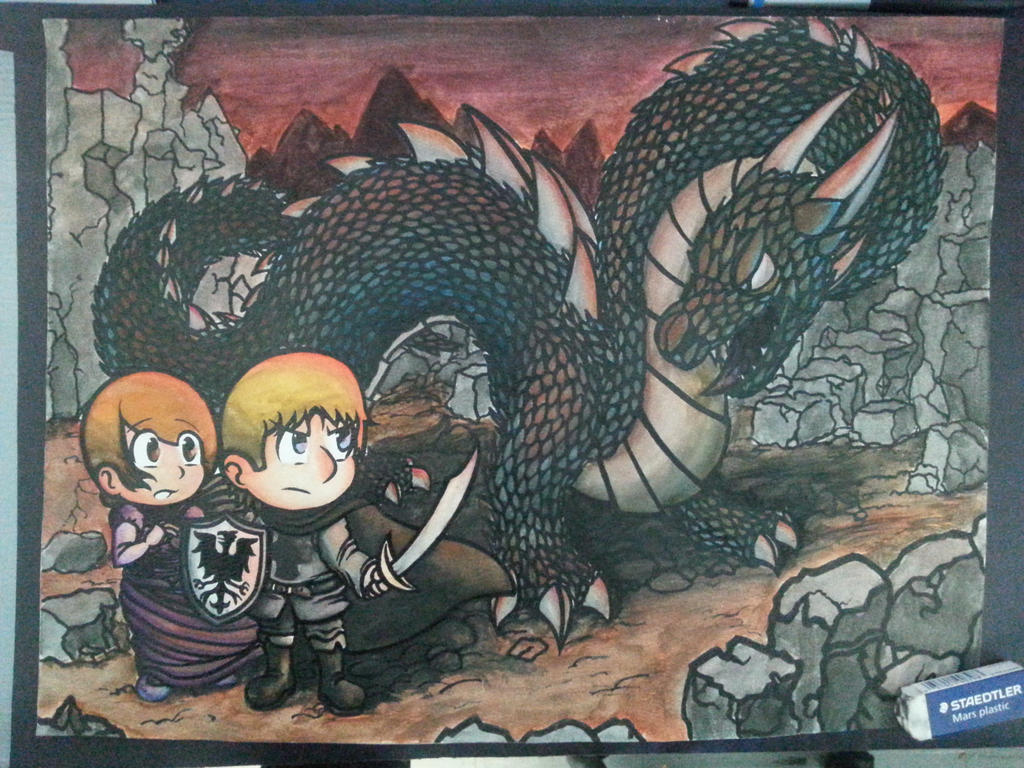 En garde, dragon! by OtakuRaichu