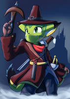 Witch Hunter Carol by goshaag