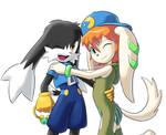 Klonoa with Milla