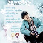 [TWITTER INTRO] 170203 // Ice Flower by Aryandil