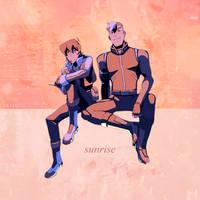 [EDIT] 171110 // Sunrise by Aryandil