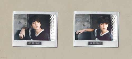 [EDIT] 180316 // Jungkook + Polaroids