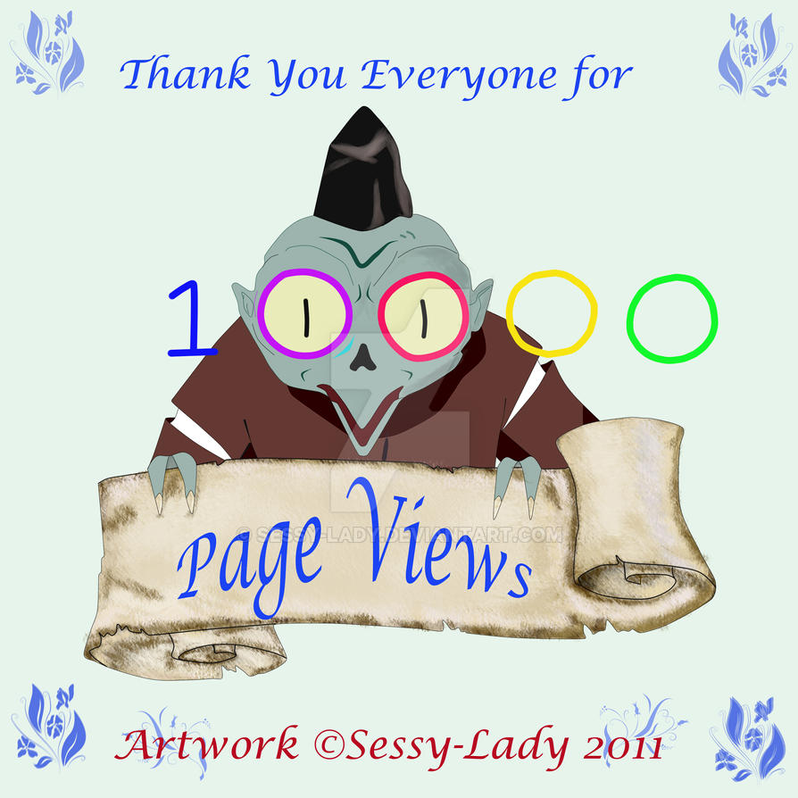 Ten Thousand Thank You's by Sessy-Lady