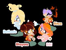 The Seasonpuff Girls by PowerpuffBaylee