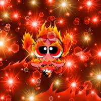 Fire Buttercup by PowerpuffBaylee