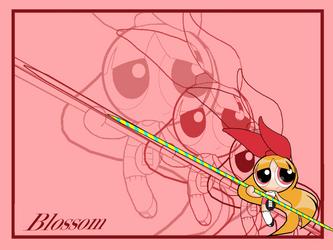 Blossom Wallpaper 1 by PowerpuffBaylee
