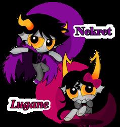 AT: Lagune and Nerkert by PowerpuffBaylee