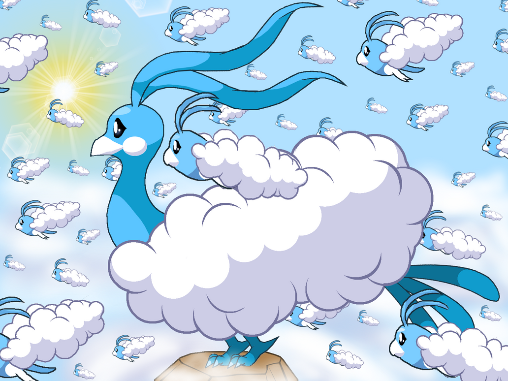 Fluffy Skies by PowerpuffBaylee
