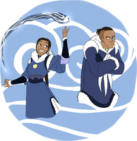 Avatar: Water Tribe siblings by HinataElyonToph