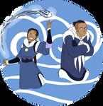 Avatar: Water Tribe siblings