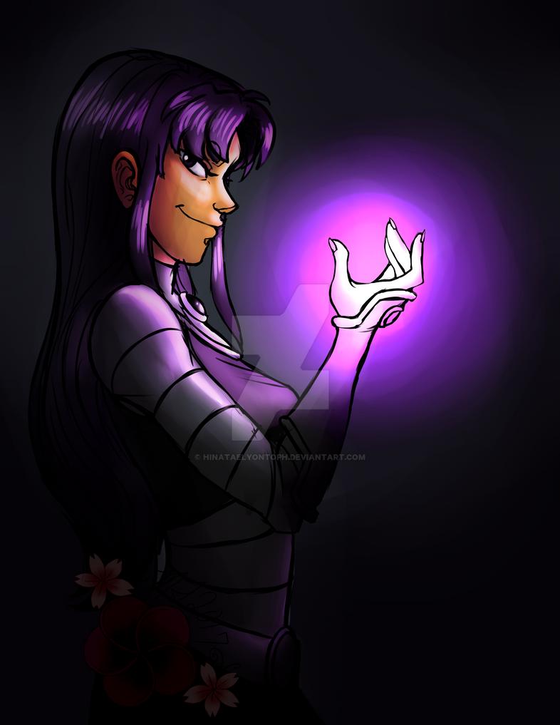 Teen Titans-Blackfire by HinataElyonToph