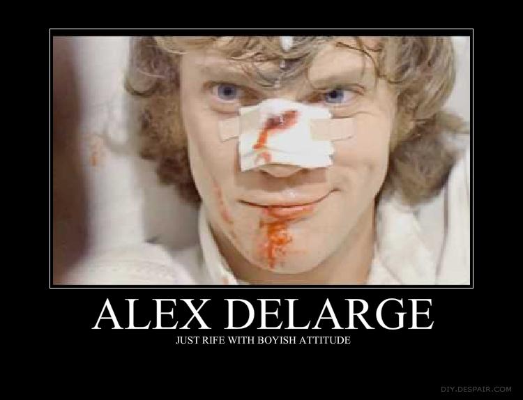 Alex delarge eye