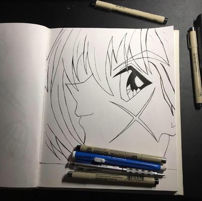 Rurouni Kenshin Drawing By FlashStep111