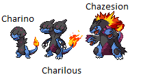 Charino - Charilous - Chazesion by Pick-blue