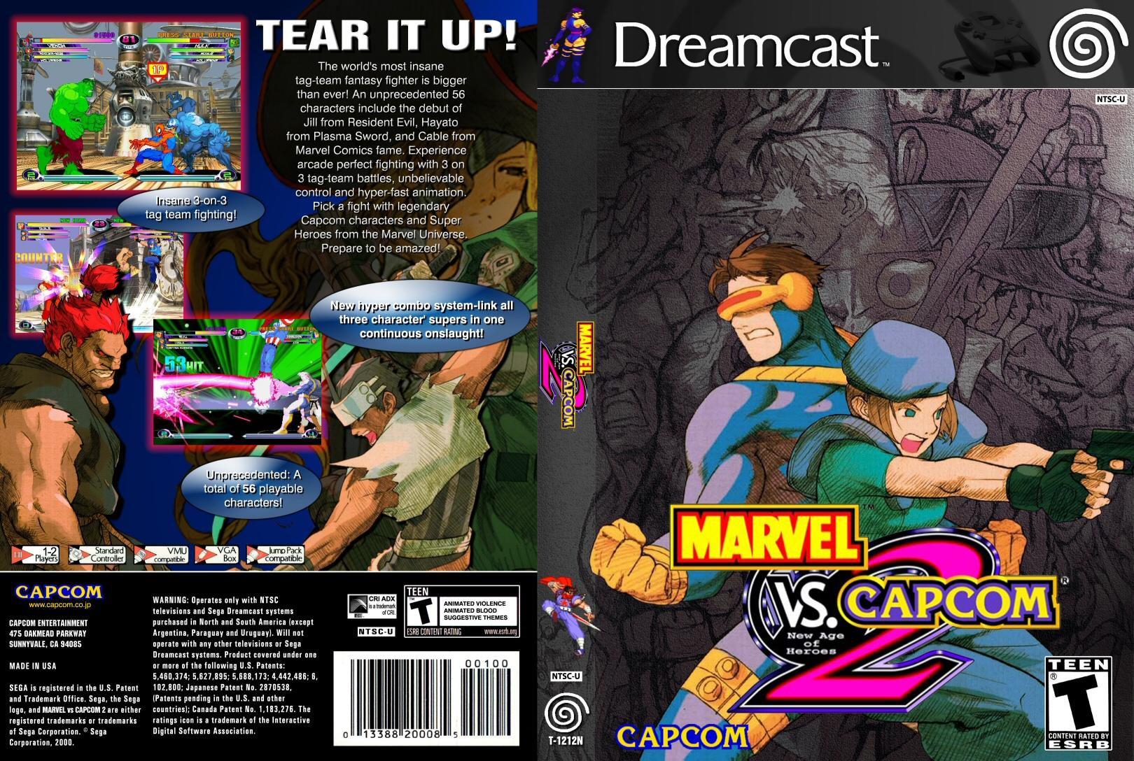 Marvel Vs Capcom 2 By Jadencorsair On Deviantart
