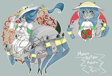 [Cancelled] Moon spider by TunaTeluna