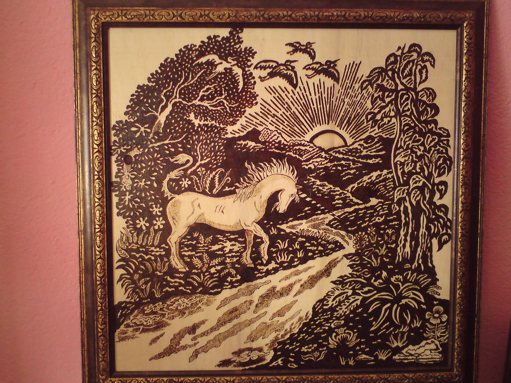 Sunrise Unicorn by MGHELIOS