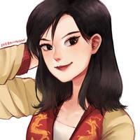 Mulan by AirinNoSekai