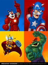 Breakfast Avengers