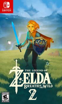 The Legend of Zelda Breath of the Wild 2 Fan Cover