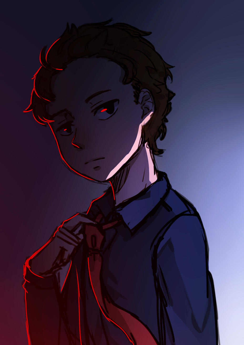 Evil morty by Mayunnaize on DeviantArt