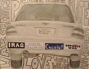 Anti-War Car