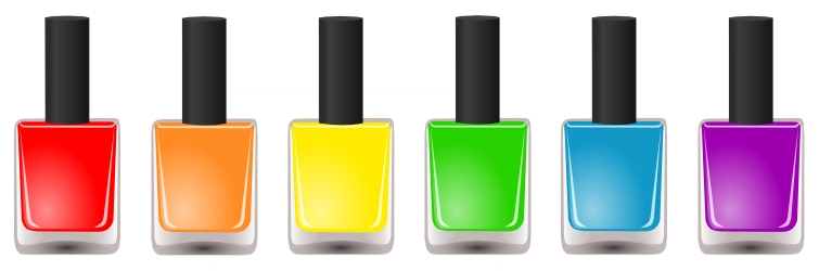 nail polish clipart vector free - photo #3