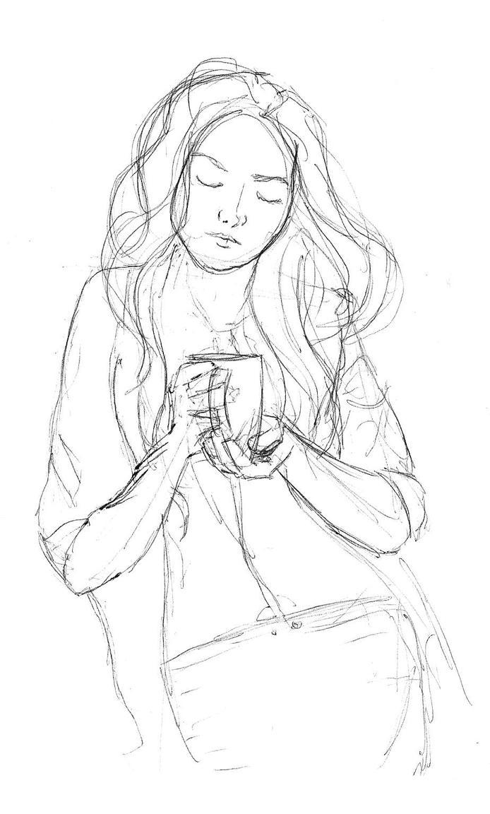 Coffee Girl By Robin-Isola On DeviantArt