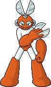 Cutman Sprite, Mega Man by CodeGeorge