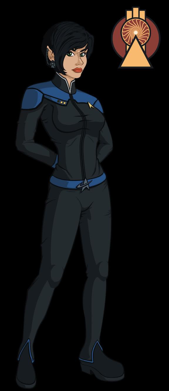 Bajoran Vulcan Female.  STO. by CodeGeorge