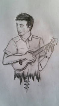 i tried to draw tyler joseph