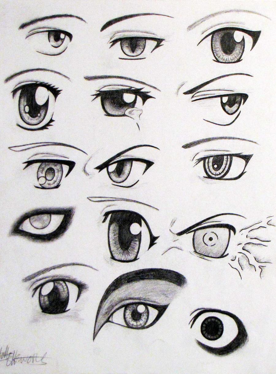 Anime Eyes By EllaWilliams On DeviantArt