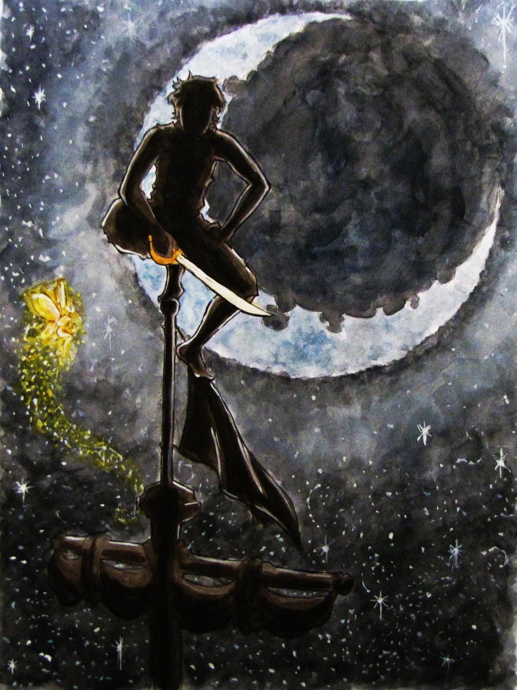 Peter Pan by EllaWilliams on DeviantArt - 368.0KB