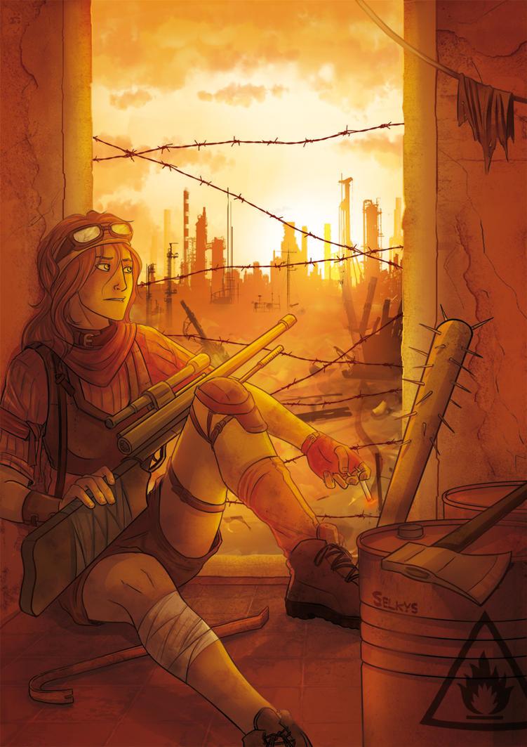 The last dusk by Selkys
