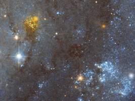 Some Supernovae amidst Gas Clouds