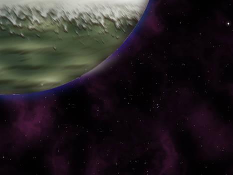 Desert Ice Planet