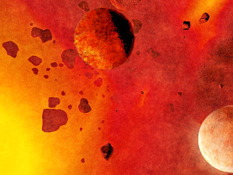 Planetoids in an Asteroid Belt