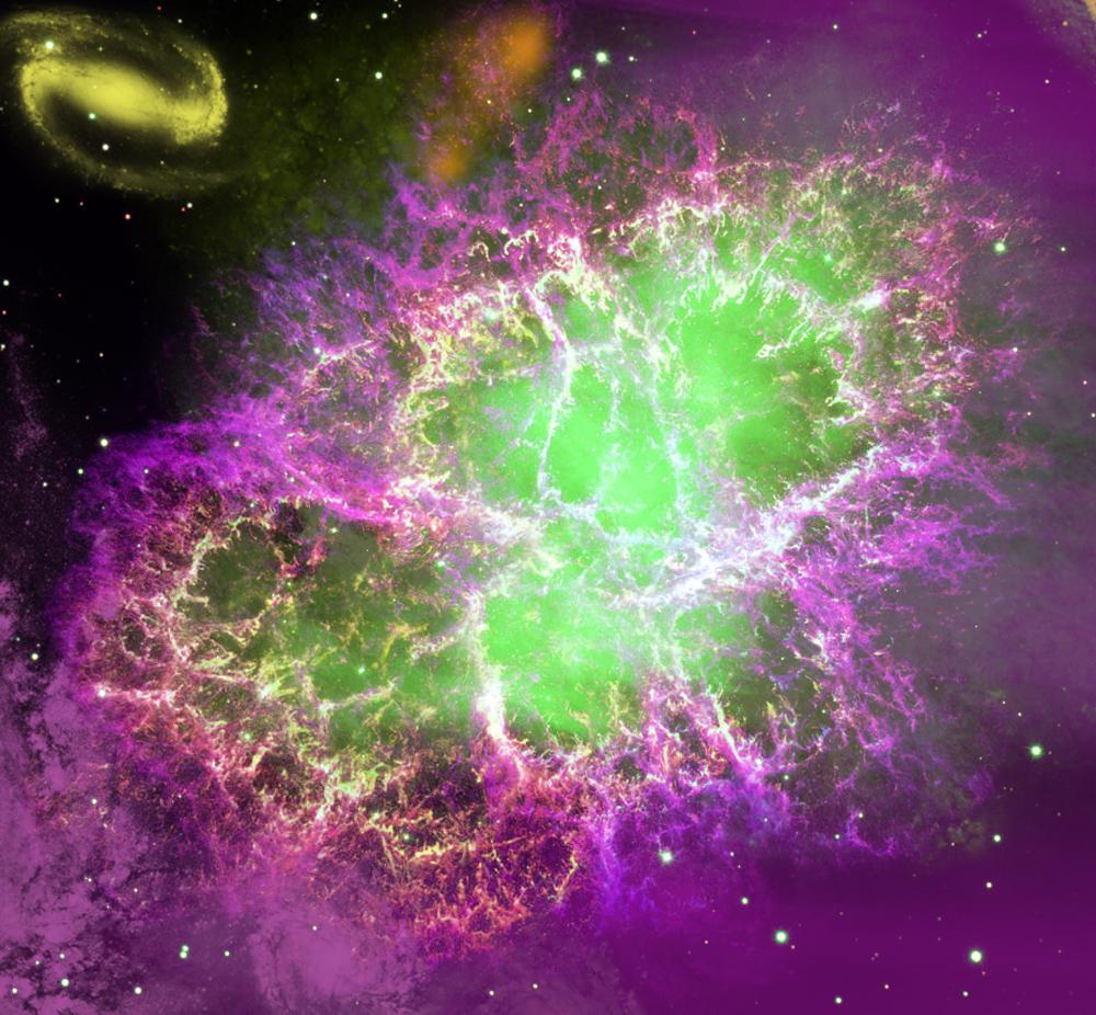 Purple and Green Nebula by Gacruxa on DeviantArt