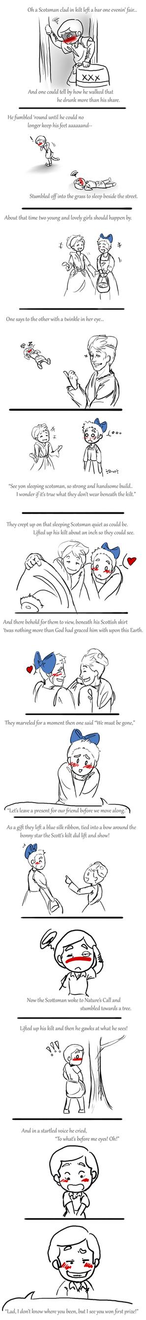 Scotsman's kilt by Free-Falling