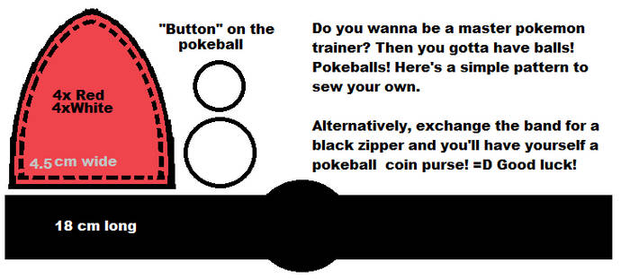 Pokeball pattern