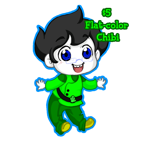 Chibi Drawings $5 by Free-Falling